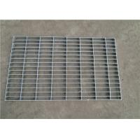 Quality Hot Dipped Galvanized Pressure Locked Grating , Heavy Duty Metal Floor Grates wholesale