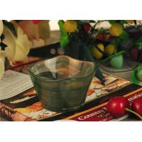 Quality Antique handmade decorative glass bowl candle holder Green material wholesale