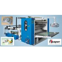 Quality Automatic Drawn Facial Tissue Folding Machine  For V Type Folding wholesale