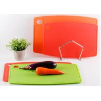 Quality Portable Durable Nonslip Silicone Cutting Board / Silicone Kitchen Tools For Kitchen wholesale