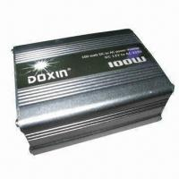 China 100W Vehicle Power Inverter with 10/15/20/40/70A Fuse and 10.4 to 11.0V Low-battery Power Alarm on sale