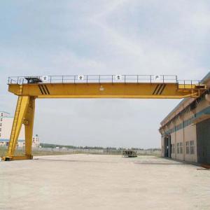 Quality Heavy Duty Semi Gantry Crane / 5T 10T Mini Single Girder Gantry Crane wholesale