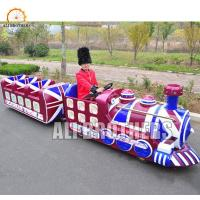 Quality Fun Park Shopping Mall Electric Kids Mini Trackless Train 14 Passengers wholesale