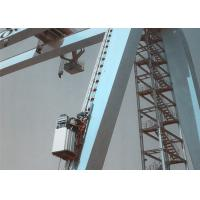 China Construction Industrial Elevator Lift Rack And Pinion Man Hoist 0-40m/ Min Speed on sale