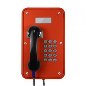 Quality Vandal Resistant Industrial VoIP Phone Weatherproof With LCD Display Screens wholesale