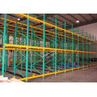 Quality Heavy Load Dynamic Flow Pallet Rack Q235B Steel Storage Racking For Cold Supply Chain wholesale