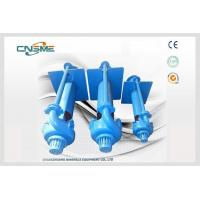 Quality Minerals Processing Vertical Cantilever Sump Pump , High Chrome Alloy Vertical Water Pump wholesale