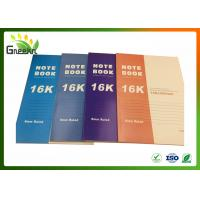 Quality 8mm Ruled Line Exercise Notebooks for Note-taking , 188 * 260mm Size wholesale