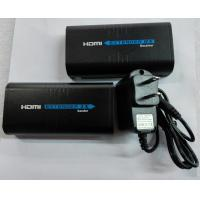 China 120M HDMI Extender Over Single Cat6 UTP Cables HDMI Transmitter And Receiver on sale