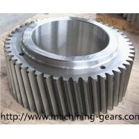Quality High Strength Large 20CrMnTi / 42CrMo Steel Helical Gears For Gearbox wholesale