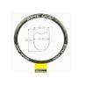 Buy cheap 38mm 389g Tubeless Carbon Rim T800 Custom Bicycle Rim 700c Road Rim 28Inch from wholesalers