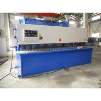 Quality CNC Hydraulic Swing / Guillotine Beam Metal Shearing Machine For Construction Field wholesale