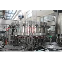 Quality 2000 - 6000BPH Carbonated Drink Filling Machine Counter Pressure Soda Bottling Equipment wholesale
