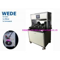 Quality Quick Running Ceiling Fan Motor Winding Machine With Less Wire Delta HMI wholesale