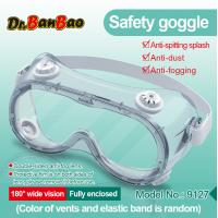Quality Anti Fog Medical Safety Eye Protection Goggles Chemical Resistant Goggles wholesale