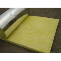 Quality 25 mm - 185 mm Thickness Glass Wool Blanket With Aluminum Foil Water Proof wholesale