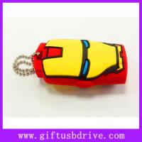 China Lovely cartoon Iron Man shape USB sticks pen drive on sale