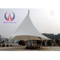 Quality Outdoor Sun Shade Sail Canopy Landscape Building , Camping Shade Structures 5 - 8m Height wholesale