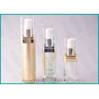 Quality Square Acrylic Cosmetic Pump Bottle 15 ML 20 ML 30 ML For Lotion And Essence wholesale