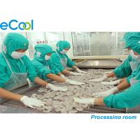 Quality Custom Industrial Cold Storage 3000 Tons , Cold Room For Frozen Seafood wholesale