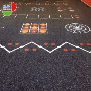 China Anti Slip Gym Room Rubber Flooring Rolls 1.22*10m Environmentally Friendly on sale