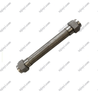 Quality Stainless steel braided mesh sleeve flexible metal hose for water steam and hot oil wholesale
