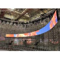 Quality Rubber Flexible Billboard LED Display Curved Advertising Board Indoor P3 Front Servicing wholesale