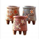Quality Korean garden pot flower decor hand-painted ceramic flower pots wholesale