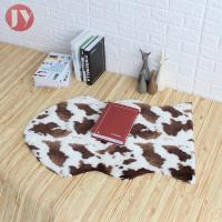 Quality Animal Skin Machine Washable Faux Fur Rug Great For Any Sexy Room Easy Carefree wholesale