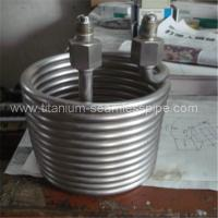 Quality Stainless steel Cooling coil / titanium Cooling coil wholesale