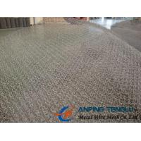 Quality 105-300 Model Stainless Steel Knittted Wire Mesh With Good Penetrability wholesale