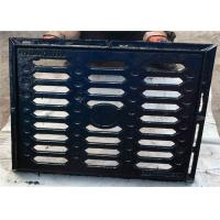 Quality Custom Channel Floor Gully Grating Square Type Cast Iron Material With Frame wholesale