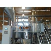 Quality 3000L Large Scale Brewing Equipment 304 Sanitary Pumps wholesale