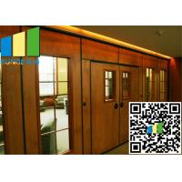 Quality Acoustic Rate 45 Db Commercial Sliding Doors Wall Partition 3.346 Inch Thickness wholesale
