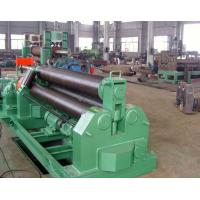 Quality 50mm Thickness Plastic Auxiliary Equipment 3 Roller Steel Plate Roll Bending Machine Welding Steel Structure wholesale