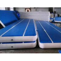 Quality Customized Inflatable Gymnastics Air Mat With Repair Kits Indoor Entertainment wholesale