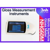 Micropore Digital Paint Gloss Measurement Instruments NHG60M 60 ° Touch Screen For Film Bamboo