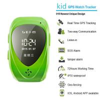 Quality 015 go everywhere smart wrist watch gps personal tracker for kids/old people with sos call wholesale