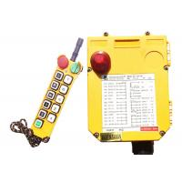 China Hydraulic Lift Overhead Crane Control Switch With 8 Function Buttons on sale