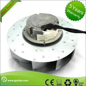 Quality similar EC Motor Fan Blower , Backward Curved Centrifugal Duct Fan wholesale