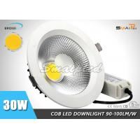 Quality COB Recessed LED Downlights , 30W 8 Inch LED Downlight For Ceiling wholesale