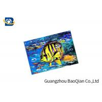 China Customized 3D Lenticular Card High Definition 3D Lenticular Printing Service on sale