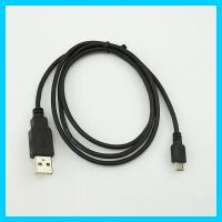 China 1.0M Black USB 2.0 Micro USB Data Cable for Mobile Phone on sale