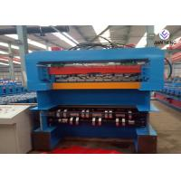 Quality 380V IBR Sheet Metal Roofing Machine PPGI Material Single / Double Layer Machine wholesale