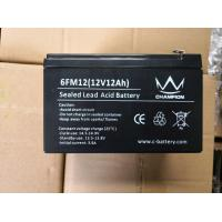 Quality 12v 10ah Gel Lead Acid Battery Deep Cycle Long Service Life Good Discharge Performance wholesale