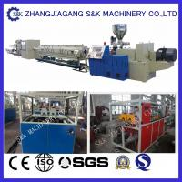 Quality Full Automatical PVC Pipe Extrusion Machine , PVC Pipe Extruder Production Line wholesale
