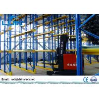Buy cheap Metal Double Sided Heavy Duty Racking SystemWith Aisle Pallet Shelving product