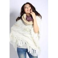 Quality Acrylic Knitted Scarf (12-BR-201712-6.1) wholesale