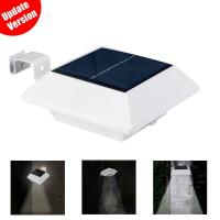 Quality Gutter Waterproof solar powered motion sensor light with 6 LED Bulbs wholesale