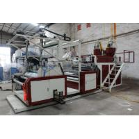 Quality Cling Film Making Machine Stretch Film With 38 CRMOLA Screw Barrel Material wholesale